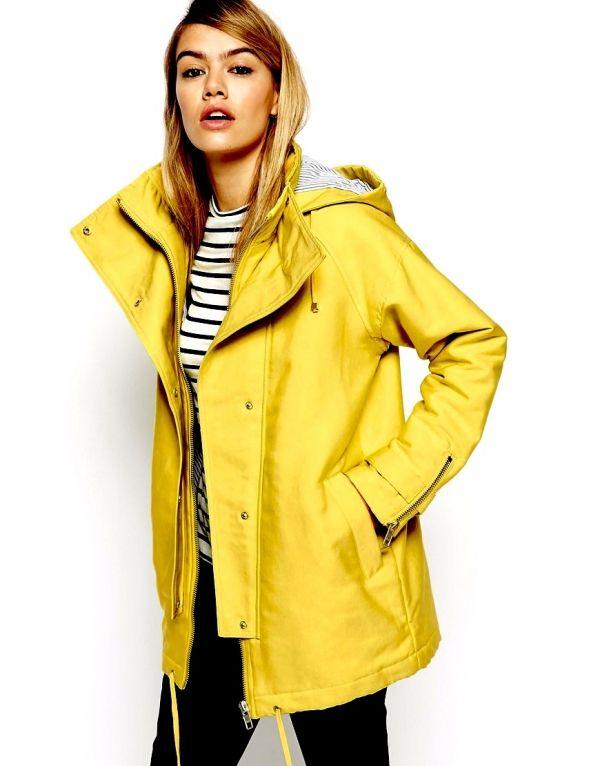 yellow sexy Raincoat