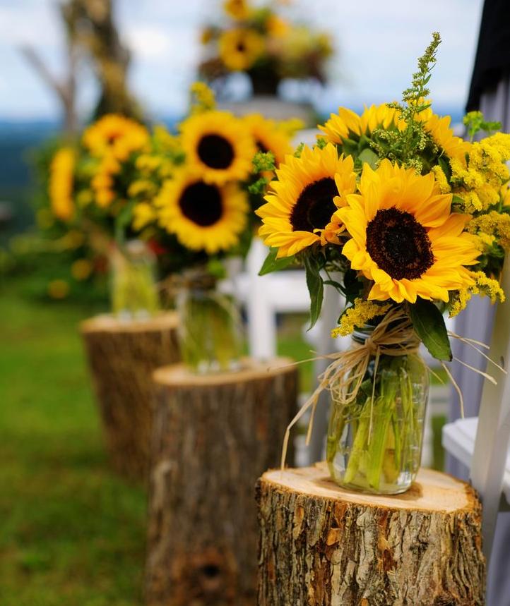 Sunflower Themed Wedding Wedding Wedding Wedding Flowers