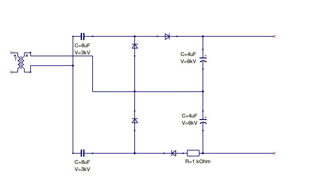 Rectifiermultiplier Circuit Diagram Creativity Pinterest