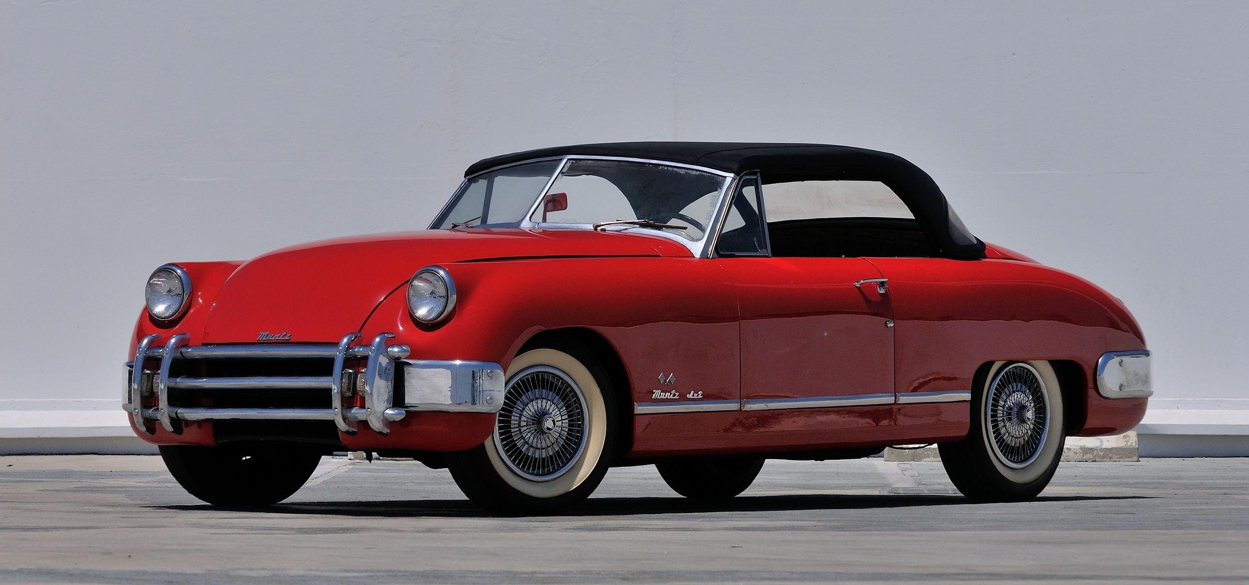 1951 Muntz Jet Vintage Cars Convertible Classic Cars