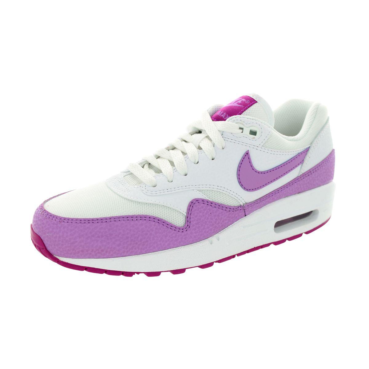 best value 1bfa1 b418b Nike Women s Air Max 1 Essential  Fuchsia Glow Fchs Flash Running Shoe