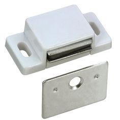 Find This Pin And More On Cabinet Doors Richelieu Hardware Magnetic White Catch