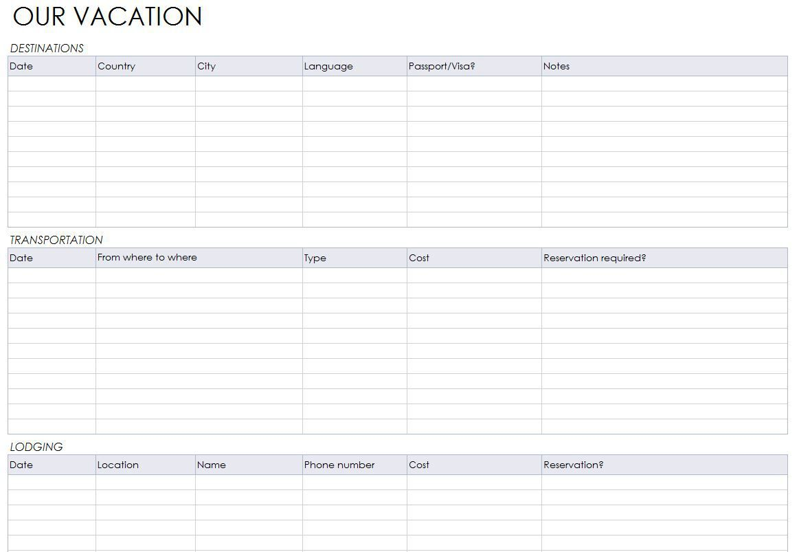 Blank Itinerary Template from i.pinimg.com