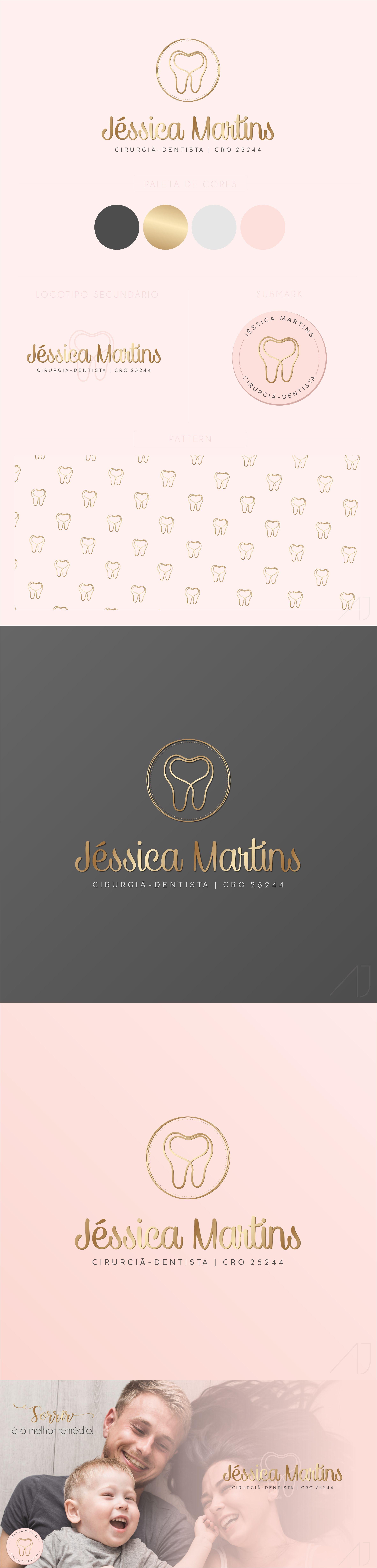 d05f543972b2 Logotipo, Logotipo para dentistas, Logo design, Logotype for dentist,  Logotype for doctor, Business Card, Cartão de visitas, Business,  Empreendedora, ...