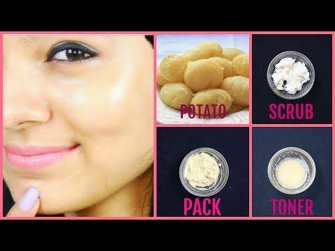 Potato facial mas