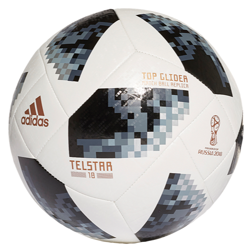 The Top Glider Version Of The 2018 World Cup Soccer Ball Mimics The Same Official Ball You Ll See On Field In Russia With Images Soccer Soccer Ball Soccer World Cup 2018