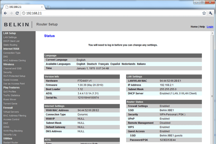 What Your Router S Ip Address 192 168 2 1 Is Used For Router Ip Address Addressing