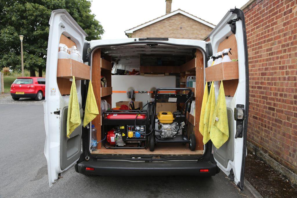 AutoGleam Valeting professional equipment and van Car