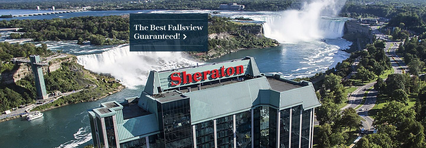 Searching For Niagara Falls Hotels Discover Why Sheraton On The Is One Of Best In With A Fallsview Reserve Room Today