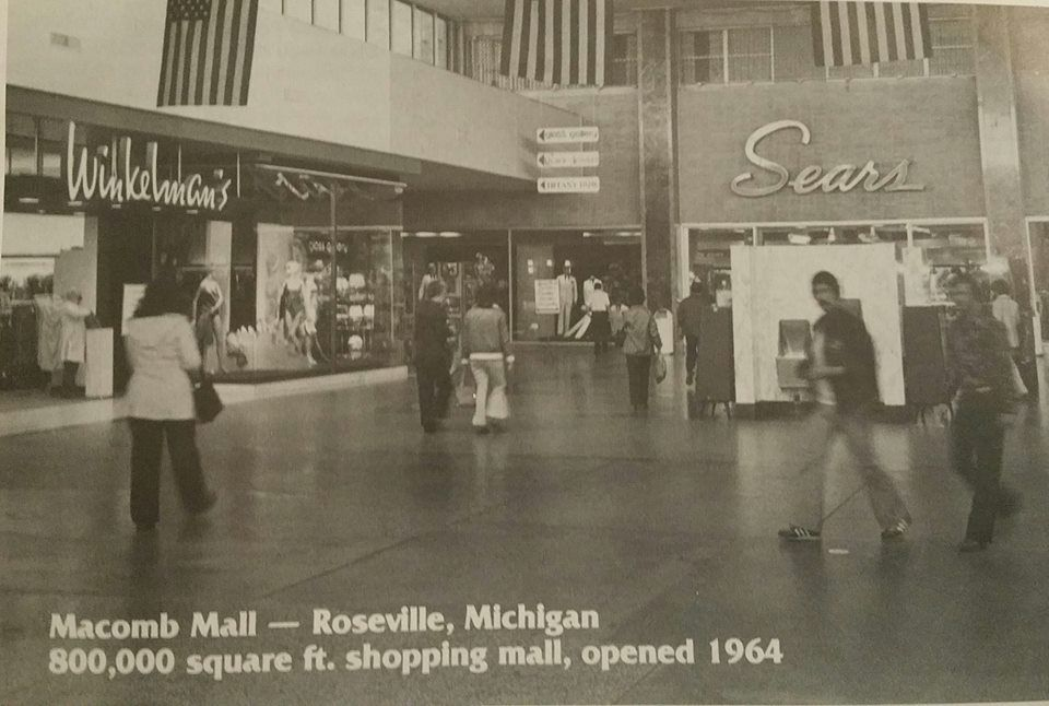 Put In Bay Christmas In July Detroit.Macomb Mall Interior Shortly After Opening In 1964