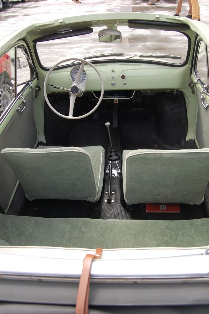 Fiat 500 1957 1975 1957 1960 Nuova Interior With Images