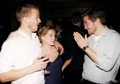 heath ledger and jake gyllenhaal (with michelle williams)