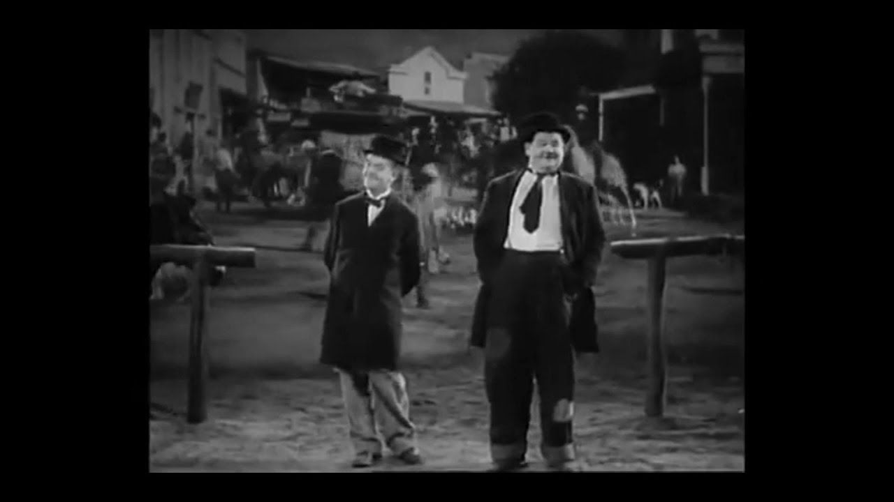 Laurel & Hardy - Way Out West (1937)