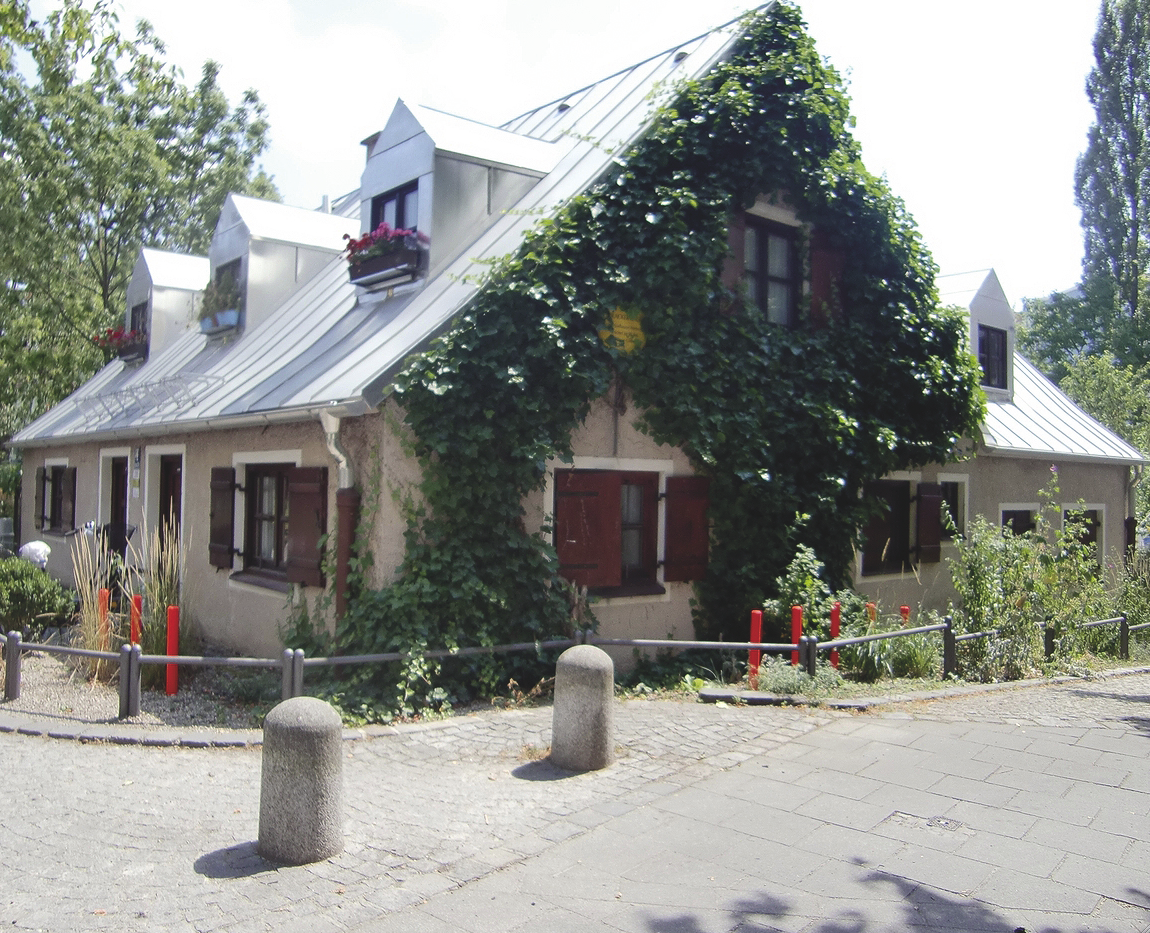 Ublacker Hausl Preysingstrasse 58 81667 Munchen Munchen Denkmal Kunstgalerie