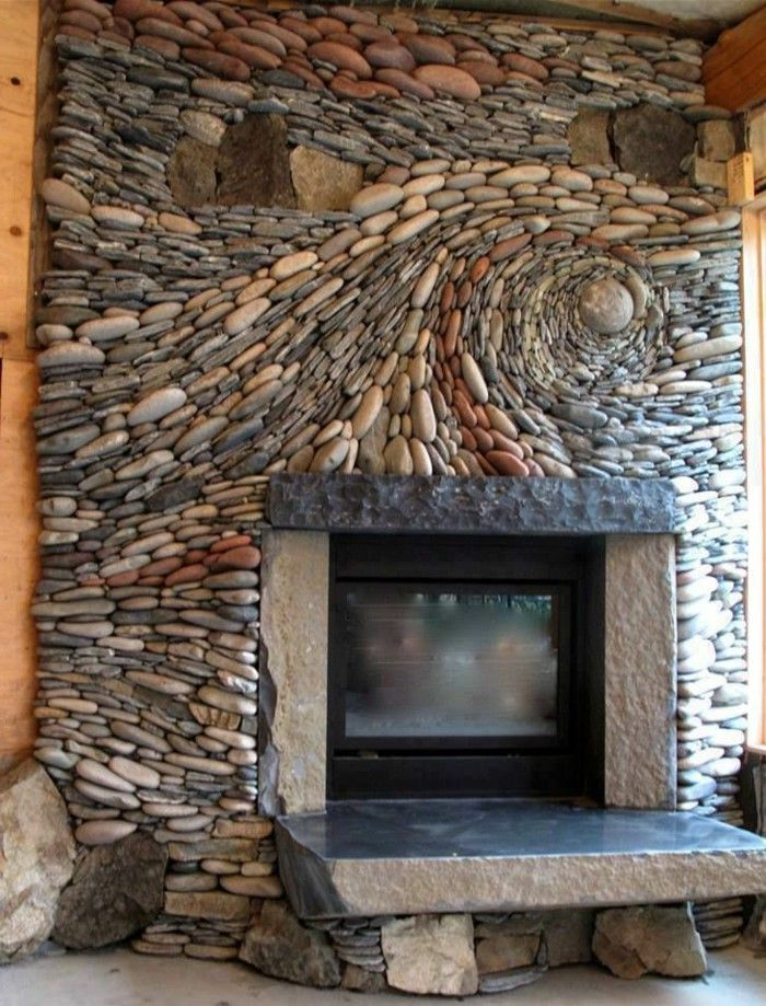 Beautiful Stonework On This Fireplace Garden Features In 2019