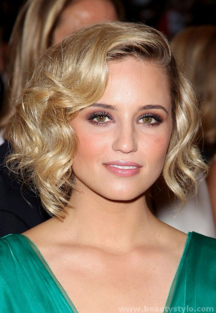 Curly bob hairstyles for pretty look kapsels pinterest curly