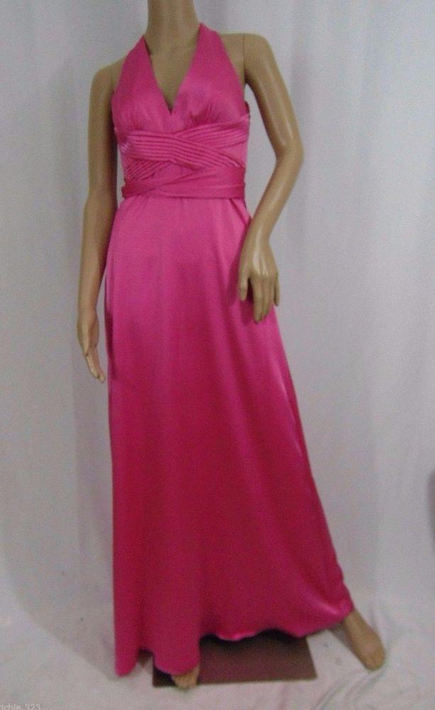 Bcbg Max Azria Woven Evening Dress Formal Prom $348 Size 12 ...
