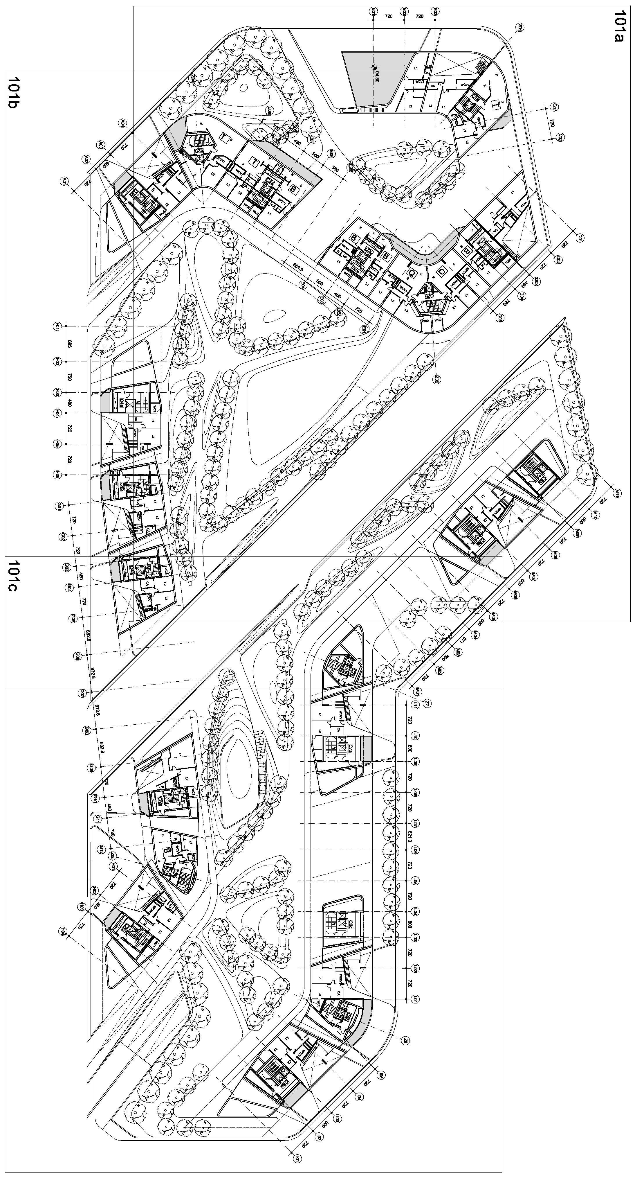 City Life Milan Zaha Hadid Architects Media
