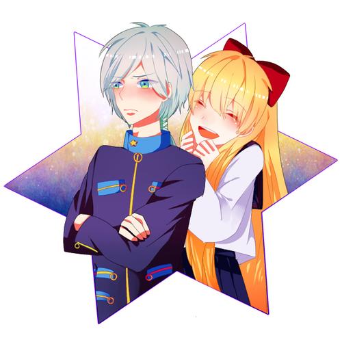 Sailor Venus & Sailor Star Healer