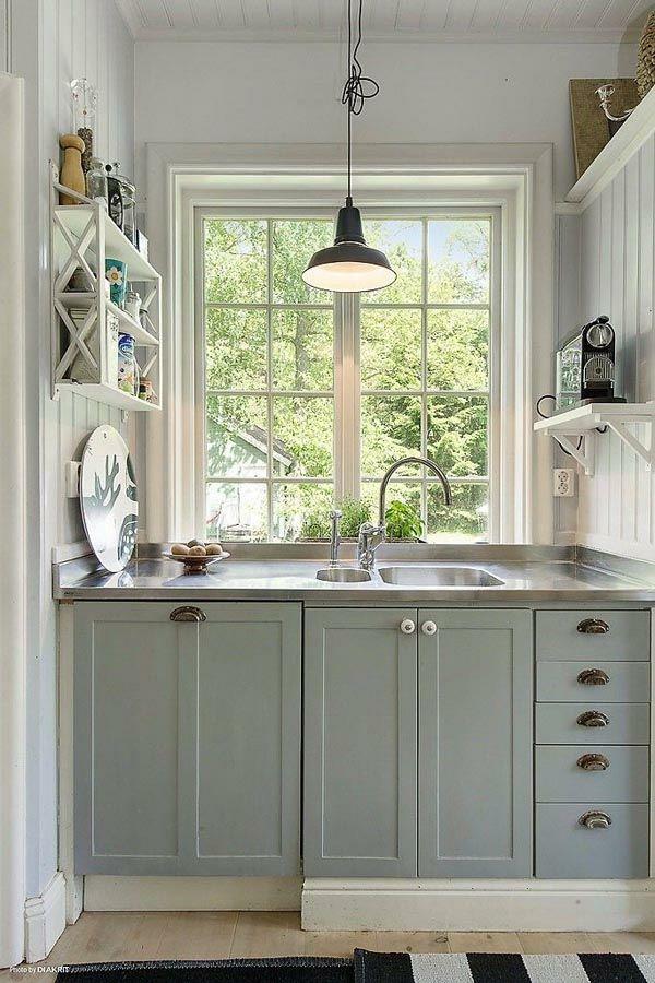Funktionelle und praktische Küchenlösungen für kleine Küchen | Home ...
