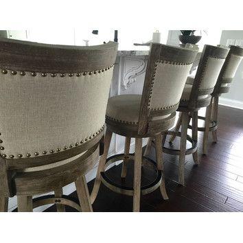 wayfair kitchen stools island remodel boraam melrose 29 swivel bar stool with cushion reviews