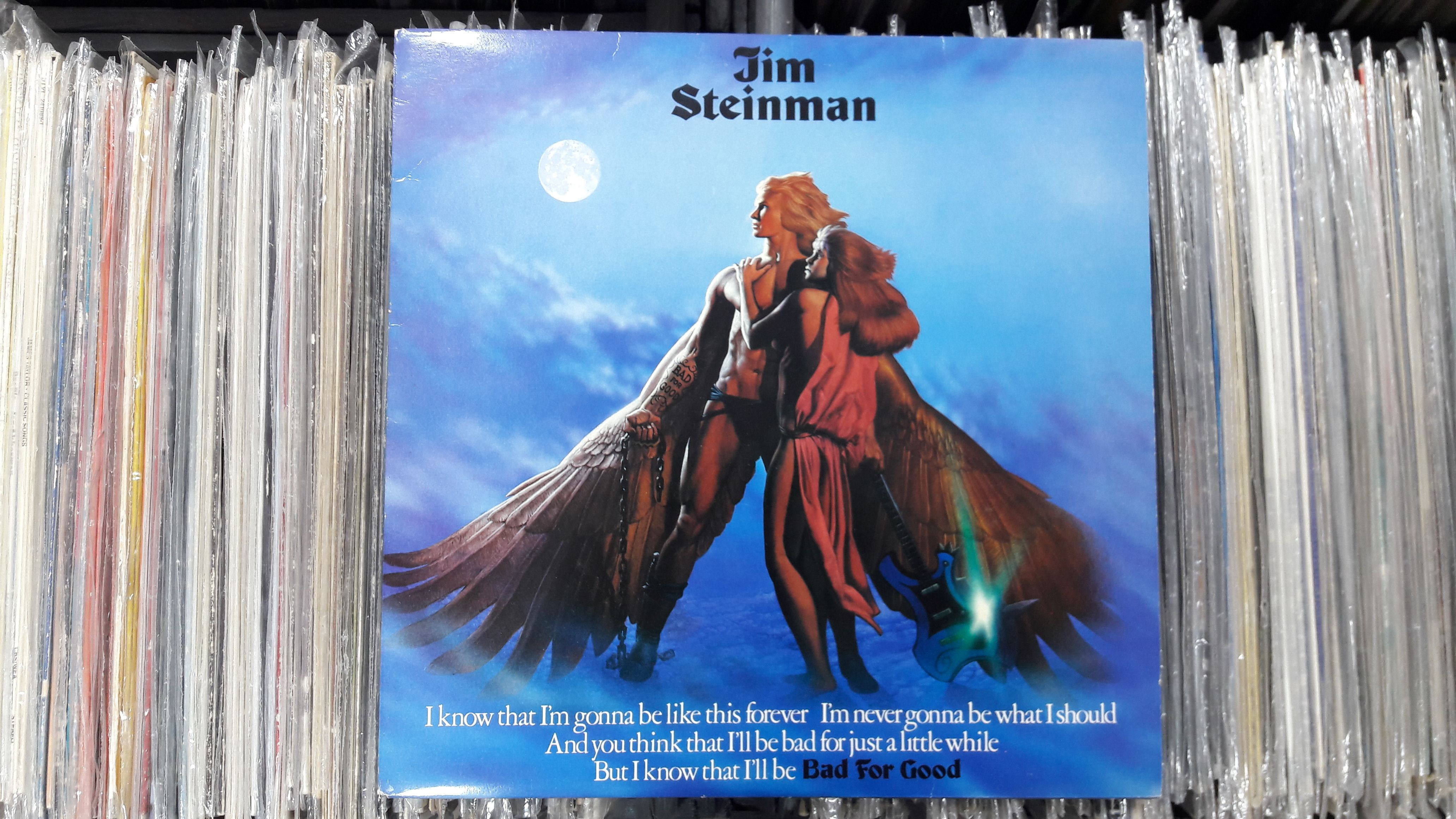 Jim Steinman - Bad For Good 1st pressing Epic - EPC ...