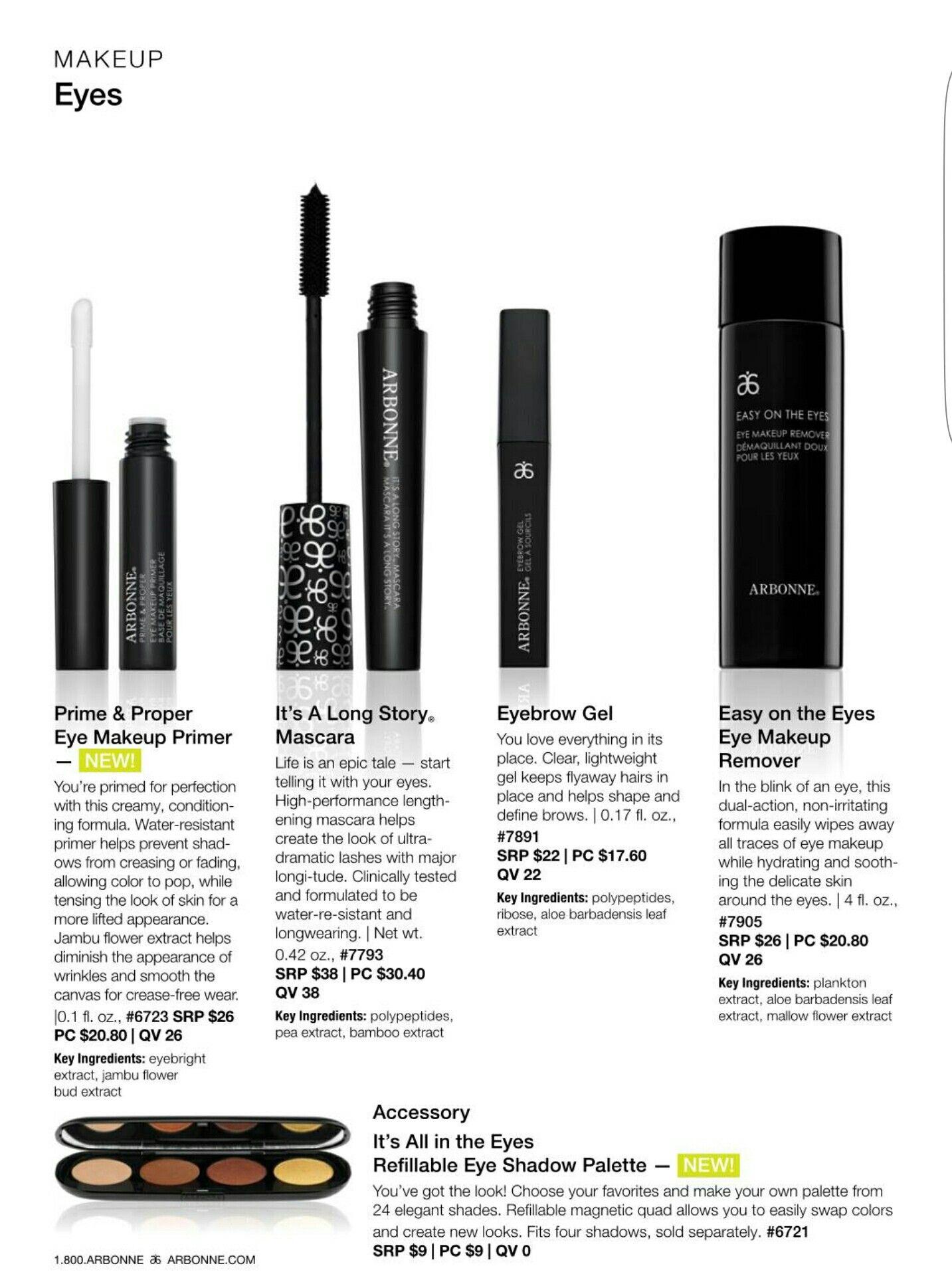 Arbonne Makeup Eyes. Shop at http//luzmariaheredia