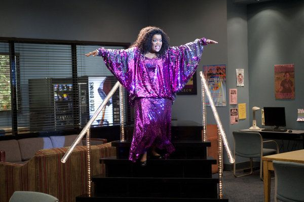 "Yvette Nicole Brown as Shirley on Community from the episode ""Biology 101""."