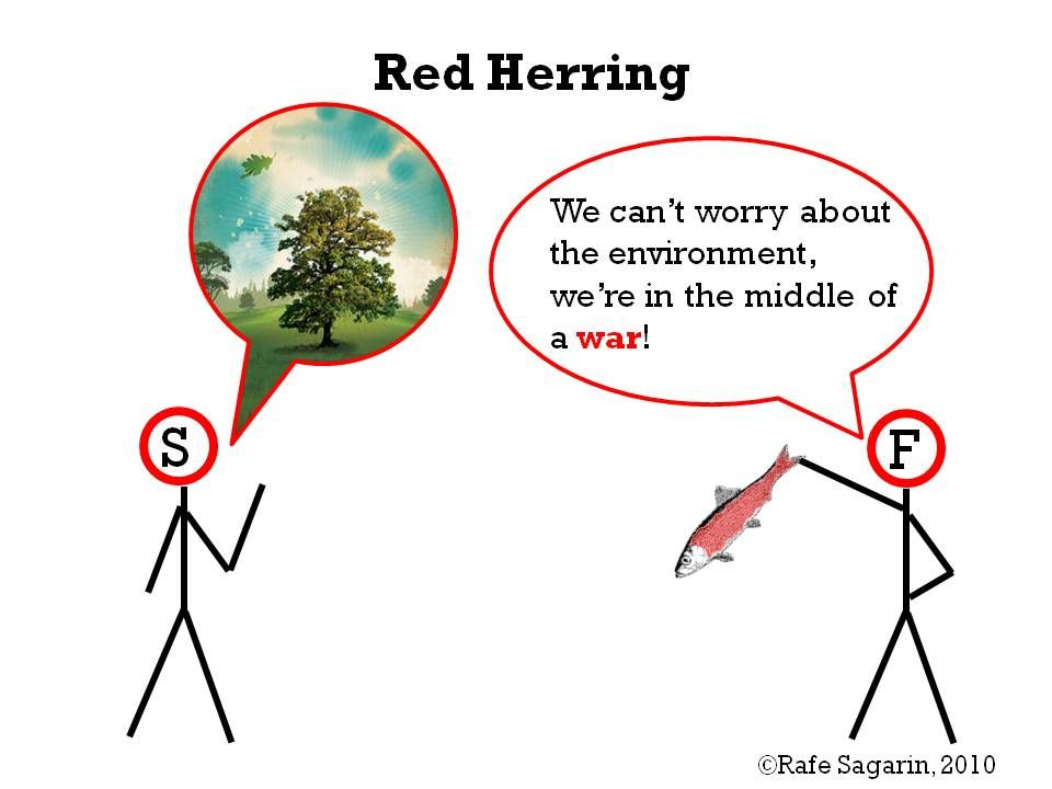 Red Herring Fallacy Fallacy Examples Logical Fallacies