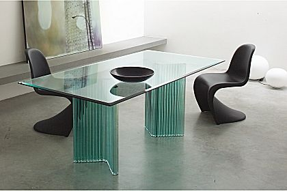 Modern Glass Dining Tables Gallottiu0026radice Furniture