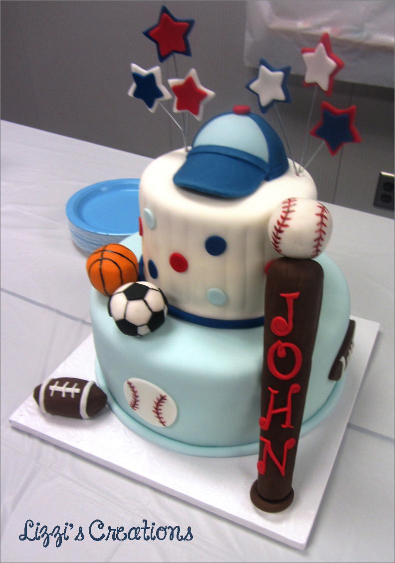 Wonderful Lizziu0027s Creations: Sports Theme Baby Shower