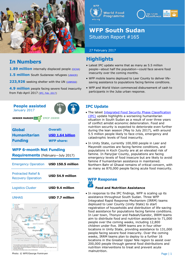 In Numbers 1 89 Million Internally Displaced People Ocha