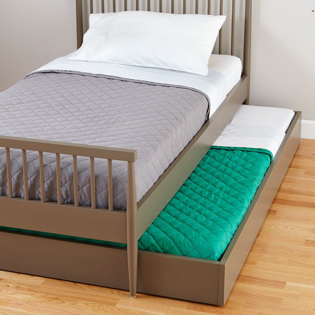 Hampshire Trundle Bed (Clay) | The Land of Nod | two in one bed ...
