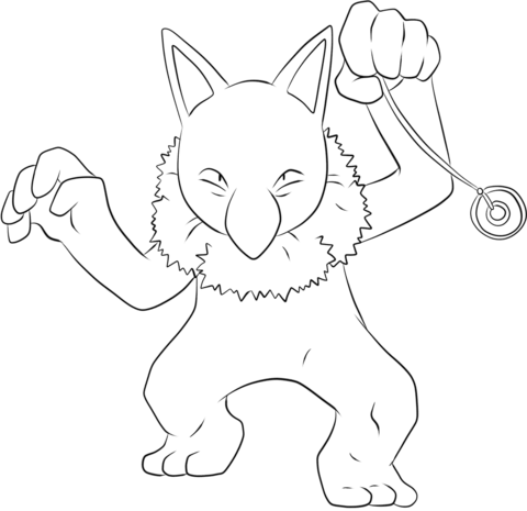 Hypno Coloring Page From Generation I Pokemon Category Select 28356 Printable Crafts Of Cartoons Nature Animals Bible And Many More