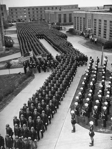 uniform rotc Texas m vintage a