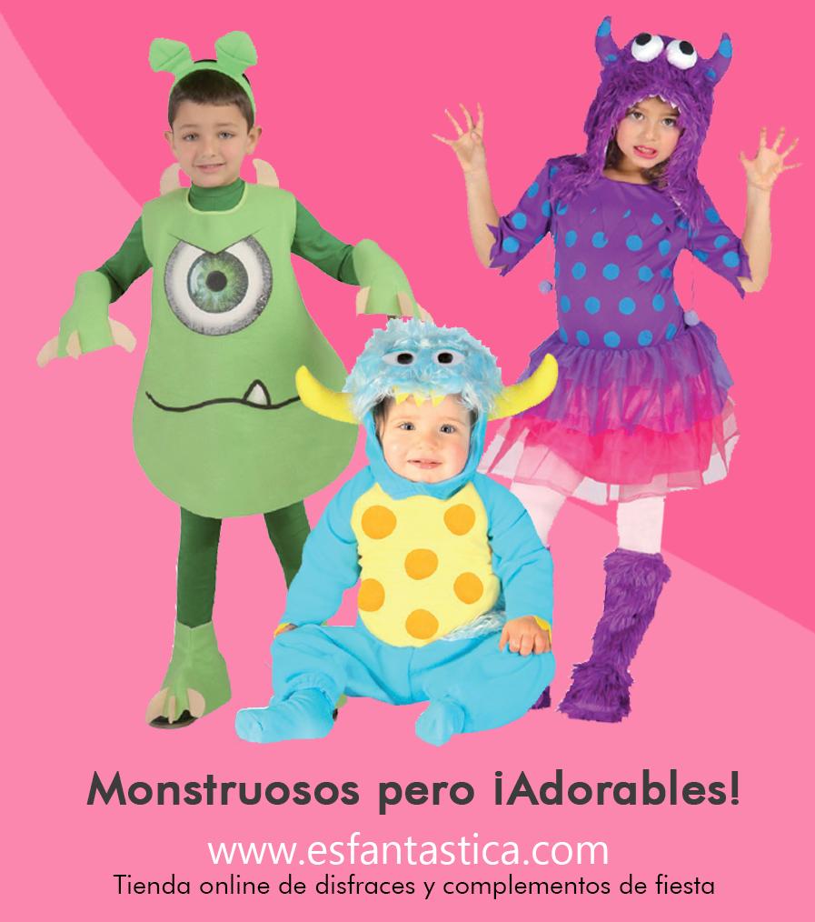 Disfraces de monstruos para ni os disfraces de halloween - Disfraces para bebes nina ...