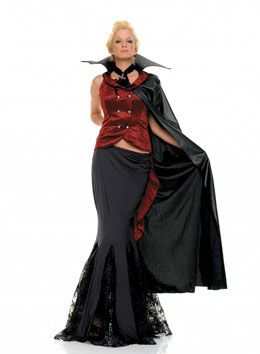 Vampire outfit for Halloween 2012. Deluxe outfit £60. This will be perfect for hosts.