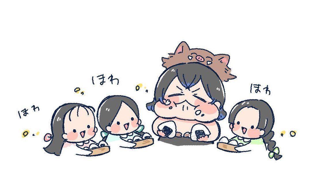 ゚ 星空 on twitter anime demon anime funny anime chibi
