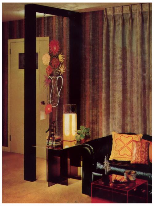 Living Room, 1970s.