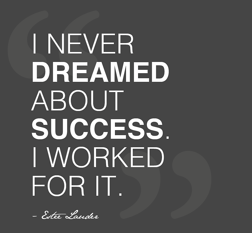 Motivational Quotes For Work I Never Dreamed About Successi Worked For Itsuccessstory