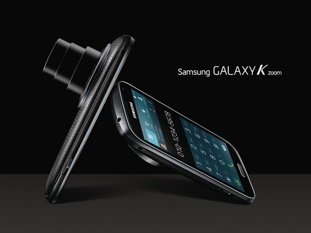 Samsung kondigt nieuwe Galaxy K Zoom smartphone met 10x-zoom aan