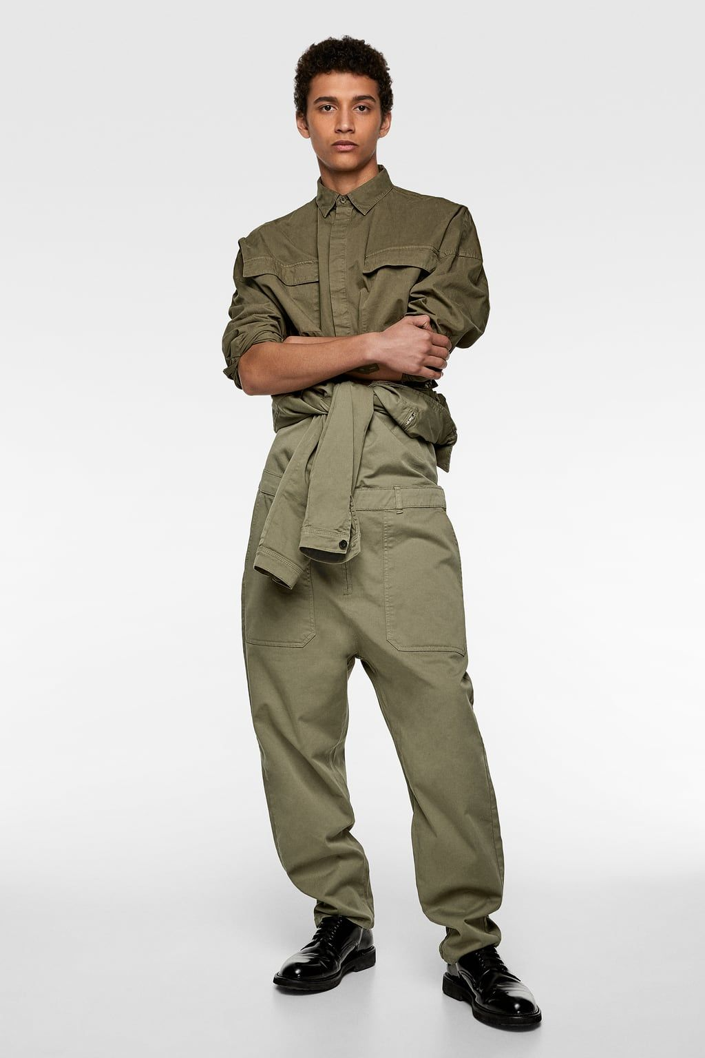 08022991ca5f JUMPSUIT WITH POCKETS - View All-JEANS-MAN