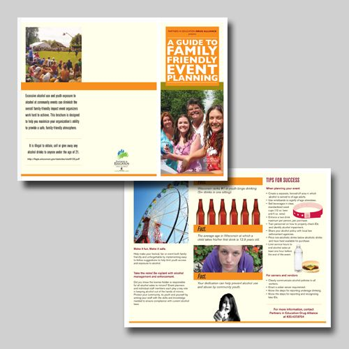 FamilyFriendly Event Planning Brochure For Partners In Education