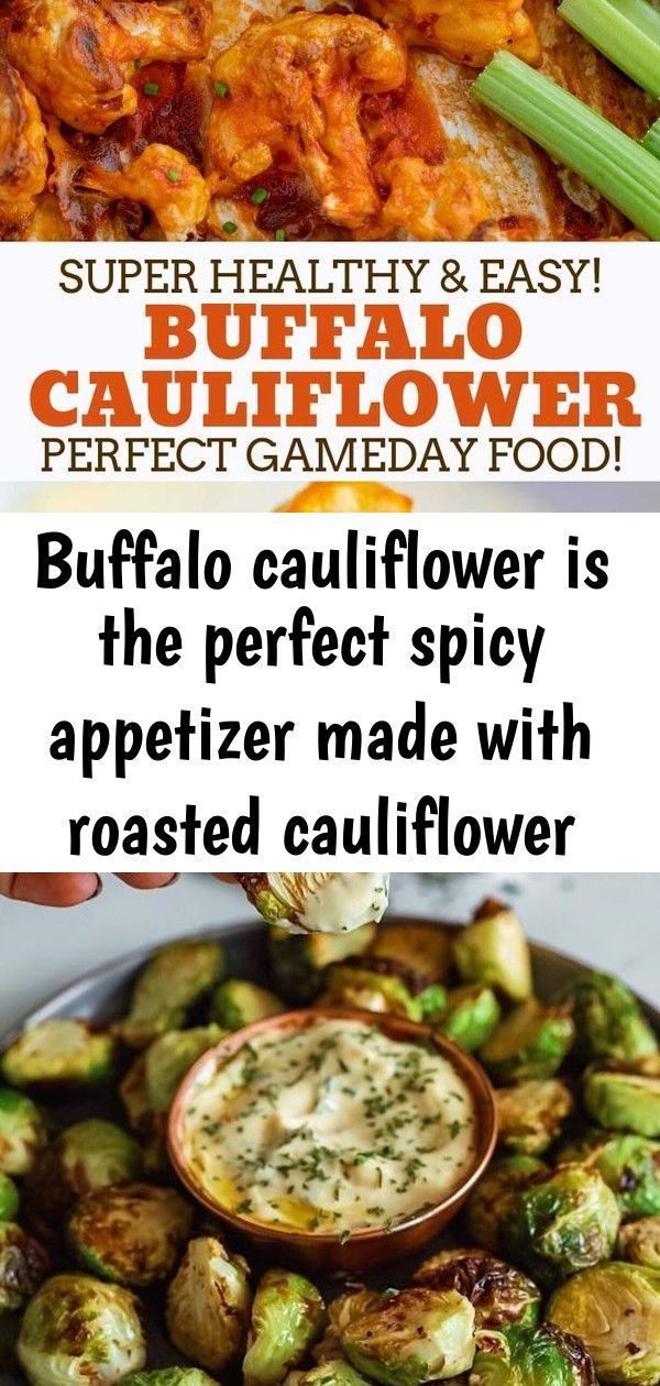 Buffalo cauliflower is the perfect spicy appetizer made with roasted cauliflower coated in a seas 1 #buffalobrusselsprouts Buffalo Cauliflower is the PERFECT spicy appetizer made with roasted cauliflower coated in a seasoned batter and spicy buffalo sauce, ready in 45 minutes! #healthy #baked #cauliflower #roasted #buffalowings #gameday #lowcarb #recipes #cookingmadehealthy Crispy Brussel Sprouts With Dijon Aioli - Dash of Mandi Love french onion soup? You need to try this skillet dinner. Get th #buffalobrusselsprouts