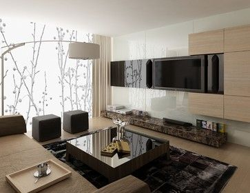 Printed Amp Backpainted Amp Back Lit Glass For Walls Modern