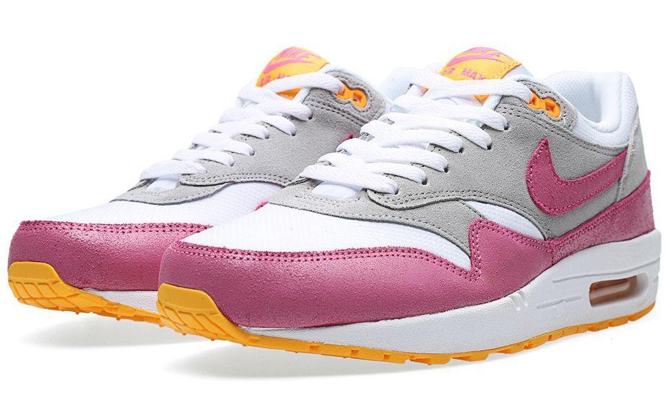 Nike WMNS Air Max 1 Essential (Pink Glow & Atomic Mango)