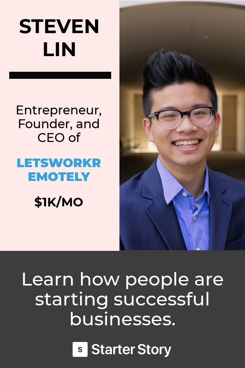 Pin by Starter Story Learn from successful entrepreneurs