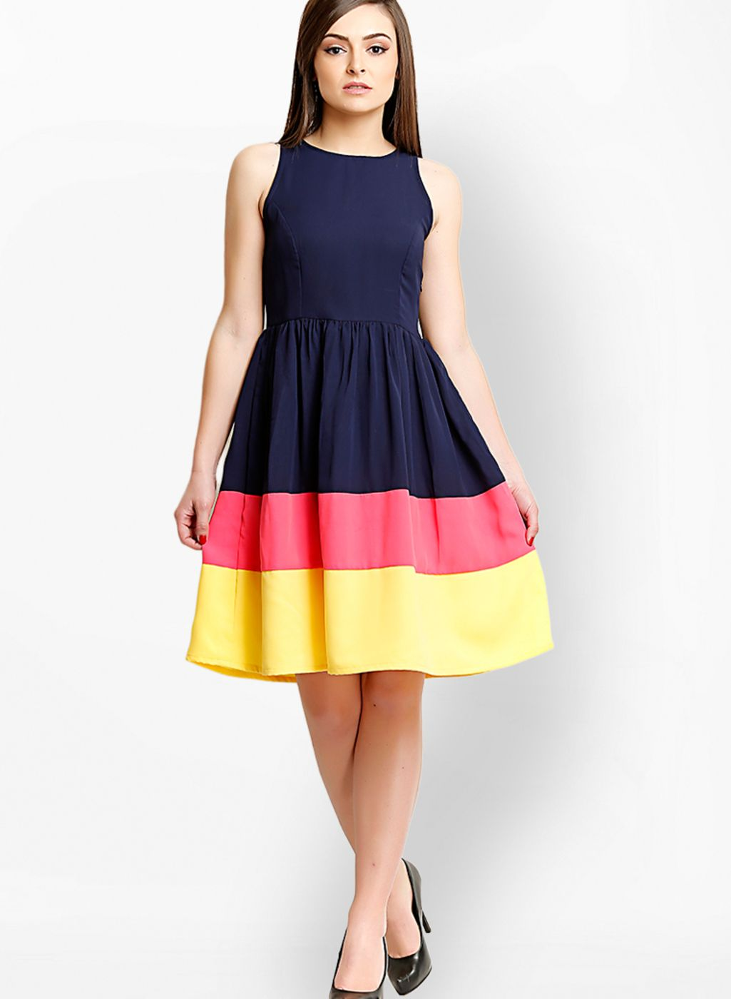 Plain colored dresses