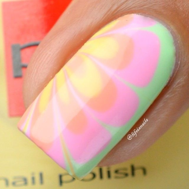 Pin by Danielle Whittemoore on Nails - Water Marbeling | Pinterest ...