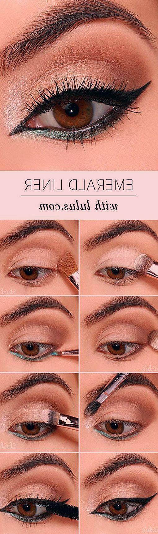 10 einfache, schrittweise Anleitungen für Eyeliner für Anfänger - -